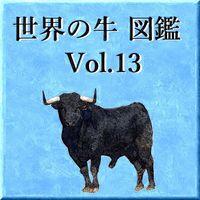 世界の牛 図鑑 Vol.13