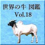 世界の牛 図鑑 Vol.18