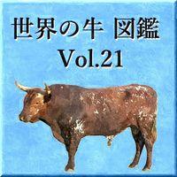 世界の牛 図鑑 Vol.21
